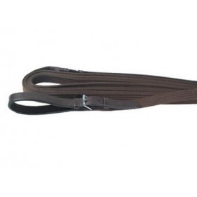 Longues rênes nylon et cuir