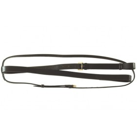 Martingale fixe cuir