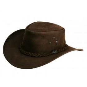 Chapeau Cuir Huilé